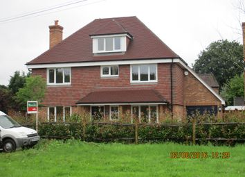 Thumbnail 4 bed detached house to rent in Guildford Road, Bisley, Woking