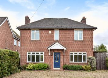 Thumbnail 4 bed detached house for sale in Monks Lane, Newbury