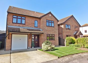 Thumbnail 4 bed detached house for sale in The Oakes, Stubbington, Fareham