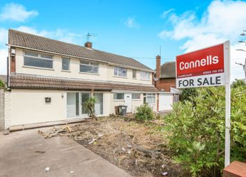 Thumbnail 3 bedroom semi-detached house for sale in Shaw Road, Coseley, Bilston