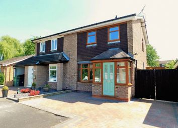 Thumbnail 2 bed semi-detached house for sale in Baywood Close, Baswich, Stafford