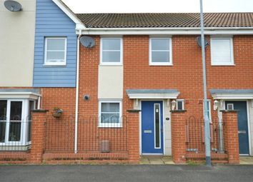 Thumbnail 2 bed terraced house for sale in St Simon Close, Queens Hills, Costessey, Norwich