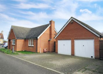 Thumbnail 3 bed detached bungalow for sale in The Paddocks, Wimblington, March