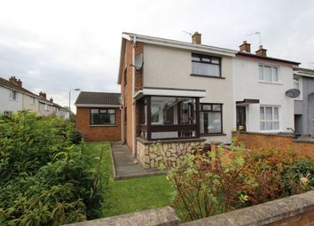 Thumbnail 3 bed terraced house for sale in Plantation Avenue, Newtownabbey