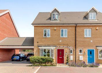 Thumbnail 4 bed semi-detached house for sale in Dennington Crescent, Basildon, Essex