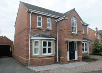 Thumbnail 4 bed detached house for sale in Teme Way, Ledbury