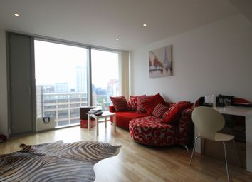 Thumbnail 1 bed flat to rent in The Landmark, East Tower, 24 Marsh Wall, Canary Wharf, London