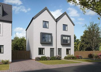 "Thumbnail 3 bedroom town house for sale in ""The Greyfriars"" at Bridge Road, Old St. Mellons, Cardiff"