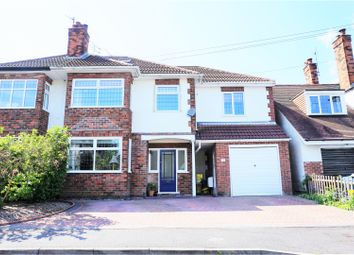Thumbnail 5 bed semi-detached house for sale in Barden Drive, Allestree
