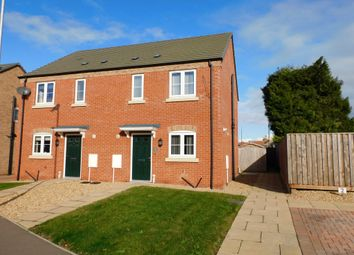 Thumbnail 3 bed semi-detached house for sale in Spire View, Holbeach, Spalding