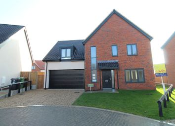 Thumbnail 4 bed detached house for sale in Plot 5 Bankside, Bell Road, Barnham Broom, Norwich