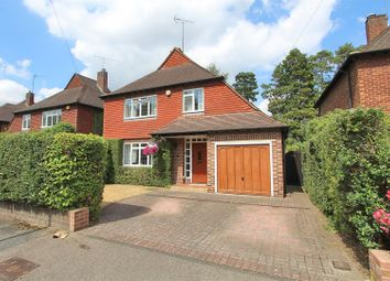 Thumbnail 3 bed detached house for sale in Lovelace Drive, Pyrford, Woking