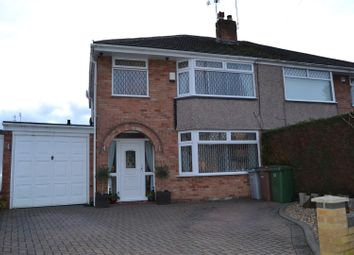 Thumbnail 3 bed semi-detached house for sale in Gorsefield Avenue, Bromborough, Wirral