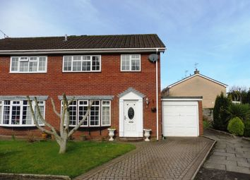 Thumbnail 3 bedroom end terrace house for sale in Vennwood Close, Wenvoe, Cardiff