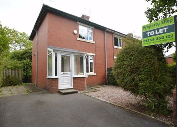 Thumbnail 2 bed semi-detached house to rent in Sparth Avenue, Clayton Le Moors, Accrington