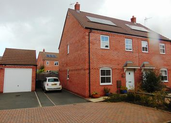 Thumbnail 3 bed semi-detached house for sale in Langston Way, Bidford On Avon