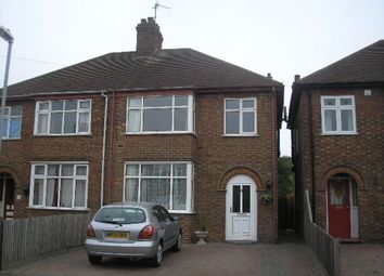 Thumbnail 3 bed semi-detached house to rent in Norton Road, Central, Peterborough