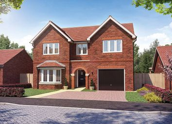"Thumbnail 4 bed detached house for sale in ""The Natland"" at Church Road, Long Hanborough, Witney"