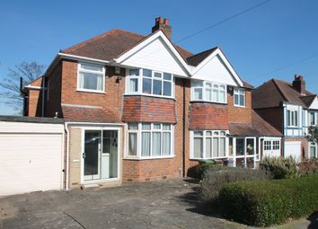 Thumbnail 3 bed semi-detached house for sale in Knightsbridge Road, Solihull