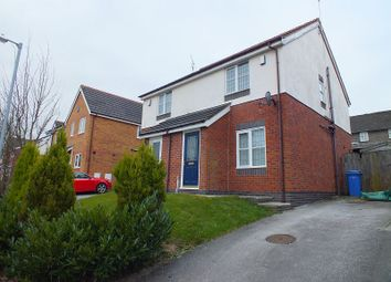 Thumbnail 2 bed semi-detached house to rent in Blackbrook Drive, Ruabon, Wrexham