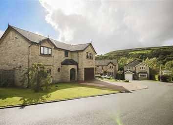 Thumbnail 5 bed detached house for sale in Hollinview Close, Rawtenstall, Rossendale
