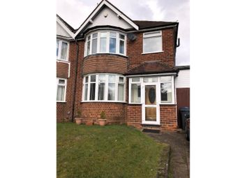 Thumbnail 3 bed semi-detached house to rent in Willersey Road, Birmingham