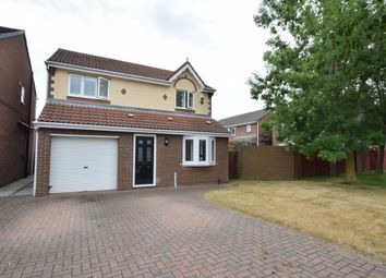 Thumbnail 3 bed detached house for sale in Fieldfare Road, Hartlepool, Cleveland