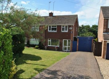 Thumbnail 3 bed semi-detached house for sale in Culworth Crescent, Kingsthorpe, Northampton