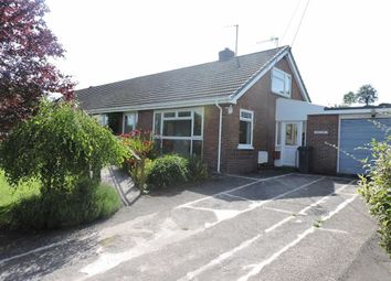 Thumbnail 2 bed semi-detached bungalow for sale in Falcondale Drive, Lampeter