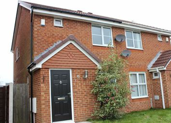 Thumbnail 2 bed semi-detached house for sale in Merefield Close, Hindley, Wigan