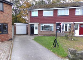 Thumbnail 3 bed semi-detached house for sale in Trispen Close, Halewood, Liverpool, Merseyside
