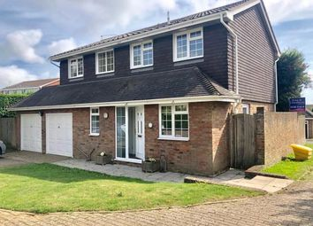 Thumbnail 4 bed detached house for sale in Rustic Park, Telscombe Cliffs, Peacehaven, East Sussex