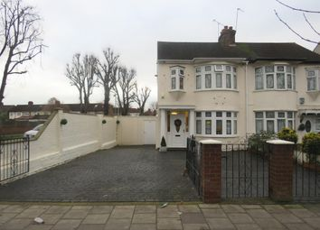 Thumbnail 3 bedroom semi-detached house for sale in Rush Green Road, Rush Green, Romford