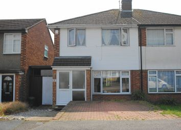 Thumbnail 3 bed semi-detached house for sale in Bolney Drive, Eastwood, Leigh-On-Sea