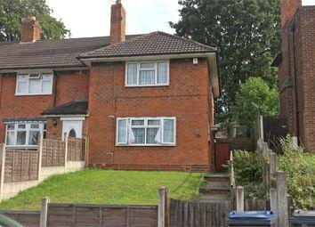 Thumbnail 2 bed end terrace house for sale in Jervoise Road, Birmingham, West Midlands