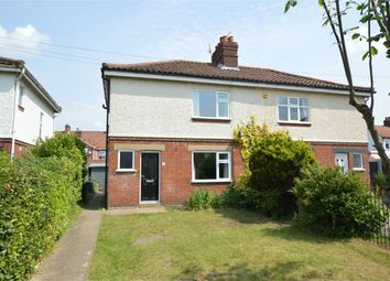 Thumbnail 2 bed semi-detached house for sale in Bellville Crescent, Norwich, Norfolk