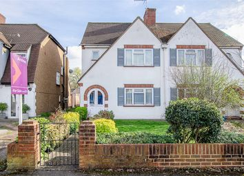 Thumbnail 3 bed semi-detached house for sale in Church Hill Road, Cheam, Surrey