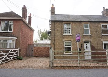 Thumbnail 2 bed semi-detached house for sale in Well Creek Road, Outwell, Wisbech