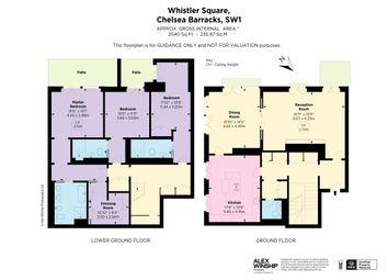 Whistler Square, Chelsea Barracks, London SW1W