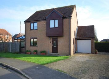 Thumbnail 3 bed detached house for sale in Wren Close, Deeping St. Nicholas, Spalding
