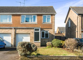 Thumbnail 3 bed semi-detached house for sale in Kennett Road, Romsey