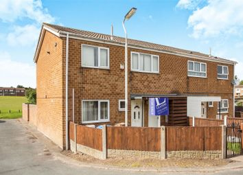 Thumbnail 3 bed property for sale in Burbage Court, Mansfield