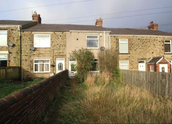Thumbnail 2 bed terraced house for sale in Pavilion Terrace, Burnhope, Durham
