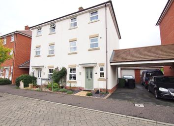 Thumbnail 4 bed town house for sale in Snowdrop Street, Wymondham, Norfolk