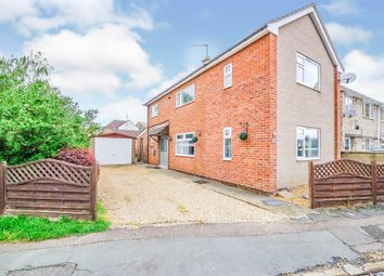Thumbnail 3 bed detached house for sale in Plough Road, Whittlesey, Peterborough