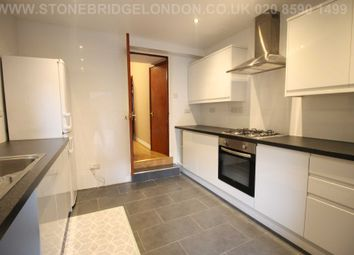 Thumbnail 3 bed terraced house to rent in Calderon Road, London