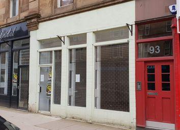 Thumbnail Retail premises to let in 91 Saltmarket, Glasgow