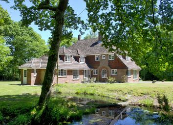 Thumbnail 5 bed detached house to rent in Castle Hill Lane, Burley, Ringwood