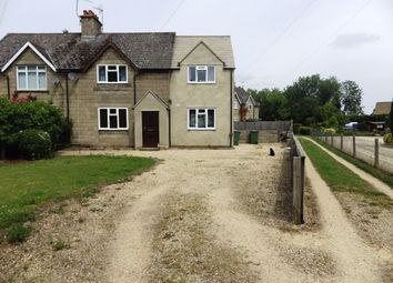 Thumbnail 3 bed semi-detached house to rent in Kent End, Ashton Keynes, Swindon