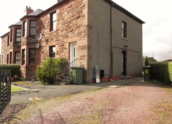 Thumbnail 2 bed flat for sale in 11 Thorburn Crescent, Annan, Dumfries & Galloway
